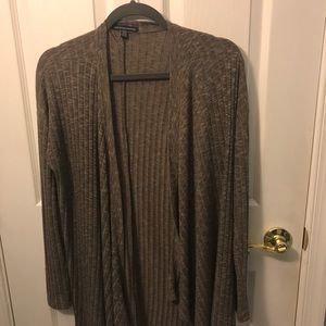 Brown American Eagle Cardigan
